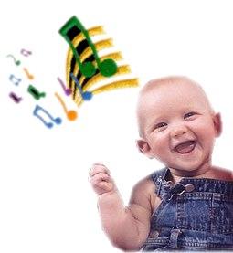 Estimulación musical para bebes